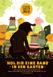 Hol dir eine Band in den Garten - Le son d'été